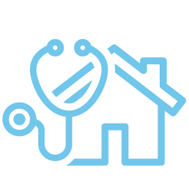 Mortgage physician icon