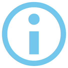 icon for information reporting